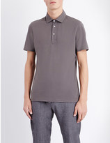 Brunello Cucinelli Regular-fit cotton-piqué polo shirt