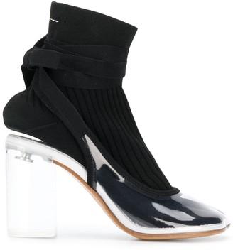 MM6 MAISON MARGIELA Contrast Ankle Boots