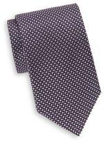 Saks Fifth Avenue Mini Natte Silk Tie & Gift Box