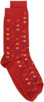 Etro floral pattern socks