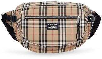 Burberry large Vintage Check cannon belt bag