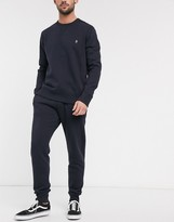 French Connection Essentials jogger in slim fit in navy