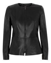 Jaeger Leather Waisted Jacket