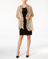 Betsey Johnson BLUE BY Clover Sequin Evening Wrap