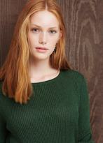 Violeta BY MANGO Metallic Sweater