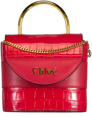 Chloé Crimson Aby Lock Bag
