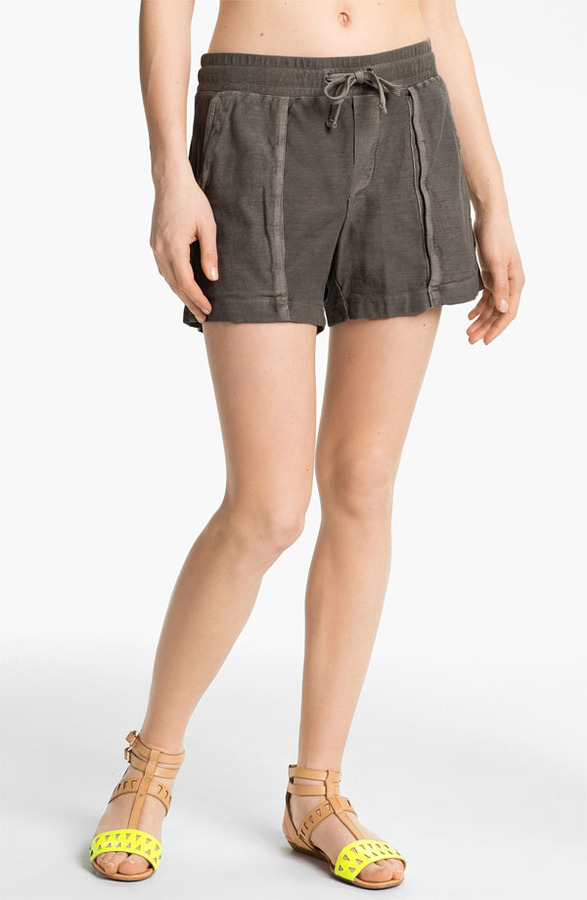 James Perse Pleated Surplus Shorts