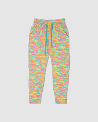 Gelati Jeans Babe Watch Bright Camo Track Pants
