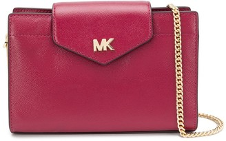 Michael Kors Logo Plaque Shoulder Bag