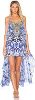 Camilla Mini Dress with Overlay