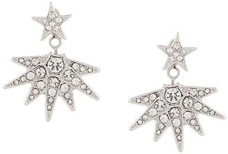 Kenneth Jay Lane star drop earrings
