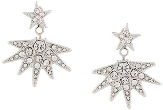 Kenneth Jay Lane Star Drop Earrings