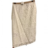 BCBGMAXAZRIA White Skirt for Women
