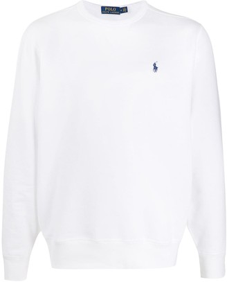 Polo Ralph Lauren Embroidered Logo Round Neck Sweatshirt