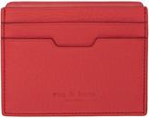 Rag & Bone Red Leather Card Holder