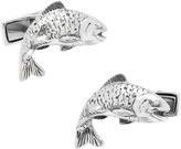 Cufflinks Inc. Men's Sterling Salmon Cufflinks