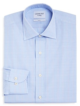 Ledbury Tauton Check Slim Fit Dress Shirt