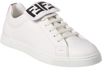 Fendi Leather Low-Top Sneaker