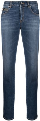 Just Cavalli STCA applique slim-fit jeans
