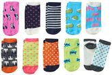 Pink Cookie Girls 4-16 10-pk. Critter Low-Cut Socks