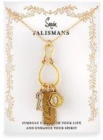 Badgley Mischka I Love You Talisman Charm Necklace