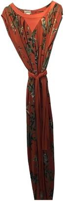 Genny Orange Dress for Women Vintage