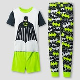Batman Boys' Pajama Set - Gray
