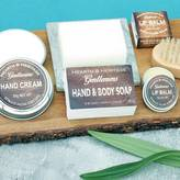 Hearth & Heritage Ltd Mens Grooming Soap, Lip Balm And Hand Cream