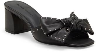 Rebecca Minkoff Rheta 2 Block Heel Slide Sandal