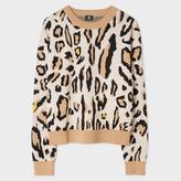 Paul Smith Women's 'Leopard' Intarsia Wool-Blend Sweater