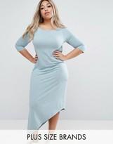 Junarose Asymmetric Jersey Dress