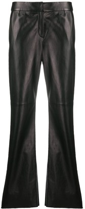 Drome Straight-Leg Biker Trousers