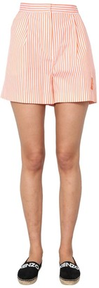 Kenzo Striped Bermuda Shorts