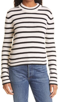 La Ligne Stripe Cashmere Sweater