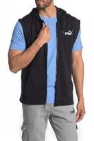 Puma Essentials+ Sleeveless Full Zip Hoodie