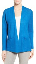 Eileen Fisher Women's Organic Linen Open Cardigan