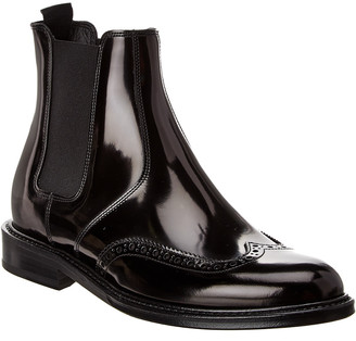 Saint Laurent Army 20 Leather Chelsea Boot