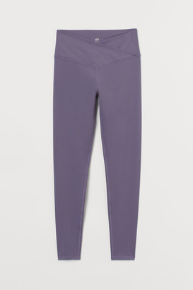 H&M Wrapover-waist Sports Leggings