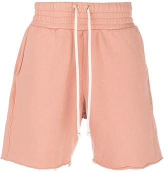 LES TIEN Straight-Leg Track Shorts