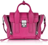 3.1 Phillip Lim Pashli Magenta Leather Mini Satchel