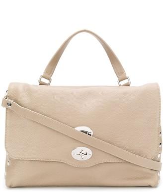 Zanellato textured leather tote bag