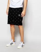 Adidas Originals Adidas Original Shorts In Trefoil Polka Dot Ao0551
