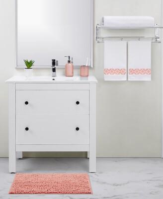 Seventh Studio Dotted Peach 5-Piece Bath Set Bedding
