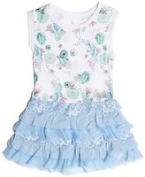 GUESS Sleeveless Tiered Dress (2-6x)