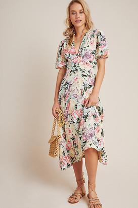 Faithfull Venissa Midi Dress By Faithfull in Assorted Size XS