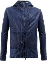 Giorgio Brato panelled hooded jacket