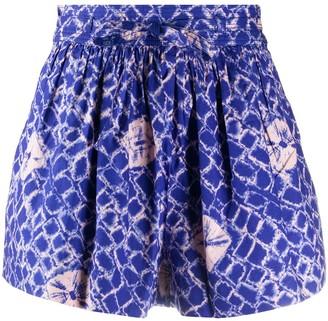 Ulla Johnson Willow abstract-print shorts