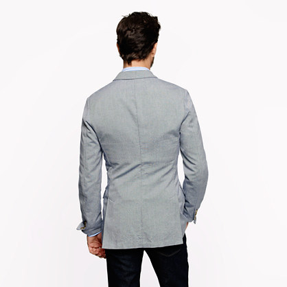 Ludlow Unconstructed Fielding sportcoat in Italian oxford cloth