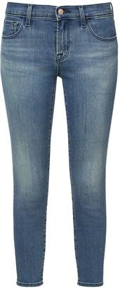 J Brand 9326 Low Rise Crop Skinny Denim Jeans