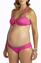 Pez D'or Women's 'Rimini' Textured Maternity Bikini